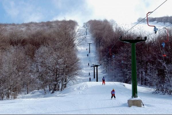 Το χιονοδρομικό κέντρο του Βέρνου